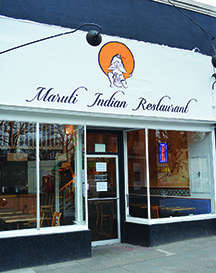 Maruti Indian Restaurant The Southeast Examiner Of